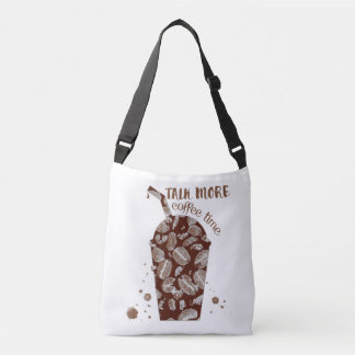 Talk More - Coffee Time (Cross Body) Crossbody Bag