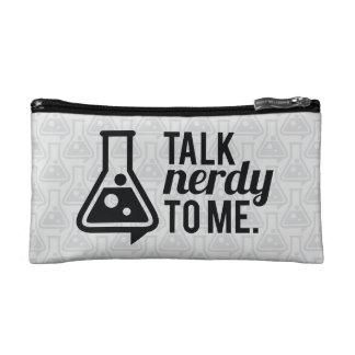 Talk Nerdy Cosmetic Bag