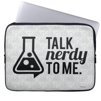 Talk Nerdy Laptop Sleeve