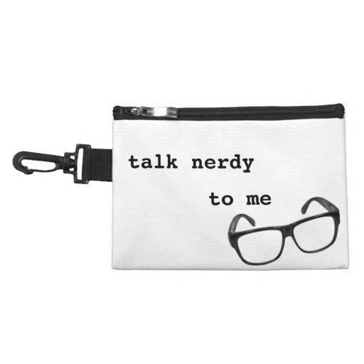 Talk Nerdy to Me Accessory Bag