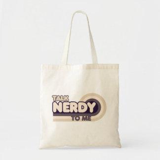 Talk Nerdy to me Budget Tote Bag