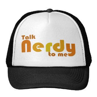 Talk nerdy to me hats
