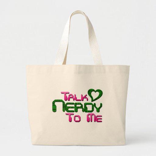 Talk Nerdy To Me Circuit Tote Bag