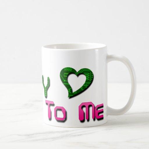 Talk Nerdy To Me Circuit Mug