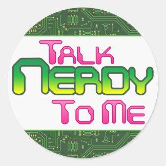 Talk Nerdy To Me Circuit Sticker