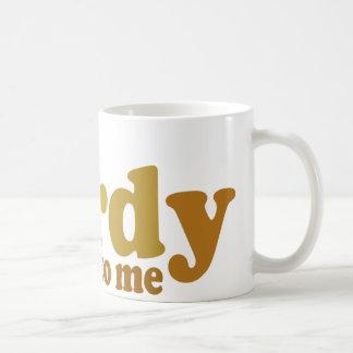 Talk nerdy to me Cool retro Coffee Mugs