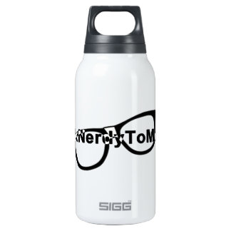 Talk nerdy to me glasses 0.3 litre insulated SIGG thermos water bottle