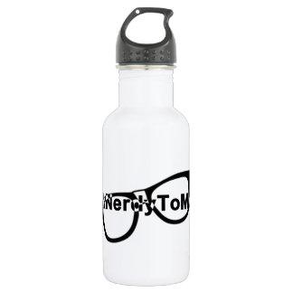 Talk nerdy to me glasses 532 ml water bottle