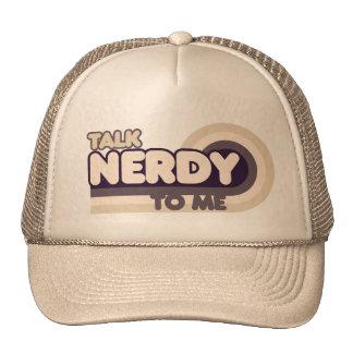 Talk Nerdy to me Mesh Hats