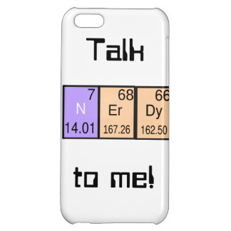 """""""Talk Nerdy To Me!"""" I-phone5 case Cover For iPhone 5C"""