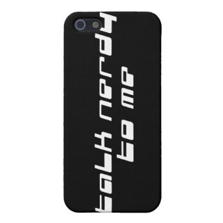 Talk Nerdy To Me Cover For iPhone 5