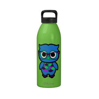 Talk Nerdy to Me Owl Reusable Water Bottles