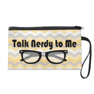 Talk Nerdy To Me Wristlet Purses