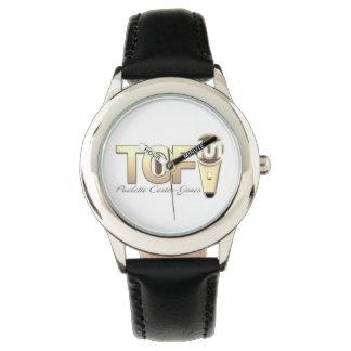 Talk of Fame101 black band women's watch
