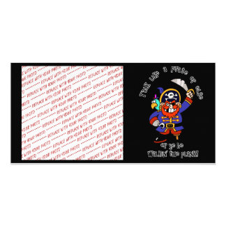 Talk Pirate or Walk The Plank - It's Pirate Day Photo Cards