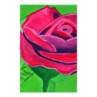 Talk Rose2 Custom Stationery