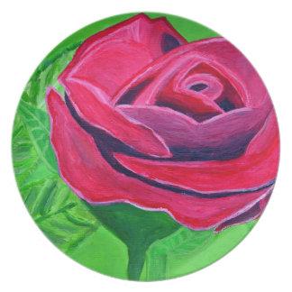 Talk Rose2 Plates
