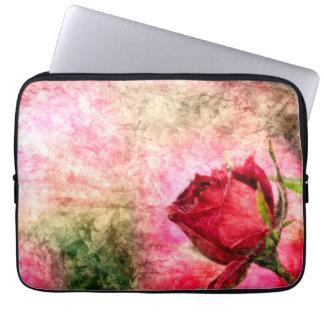 Talk rose laptop sleeve