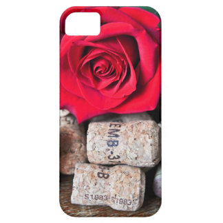 TALK ROSE with cork Barely There iPhone 5 Case