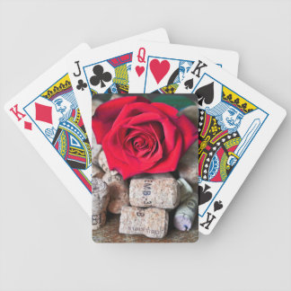 TALK ROSE with cork Bicycle Playing Cards