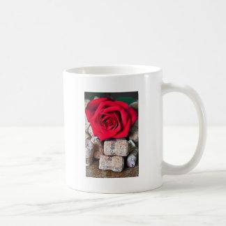 TALK ROSE with cork Coffee Mug