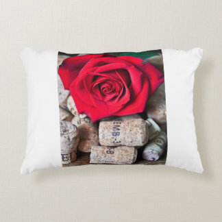 TALK ROSE with cork Decorative Cushion