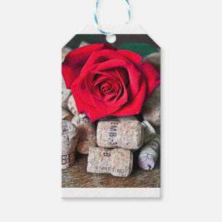 TALK ROSE with cork Gift Tags