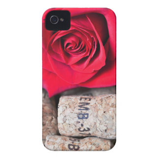 TALK ROSE with cork iPhone 4 Cases