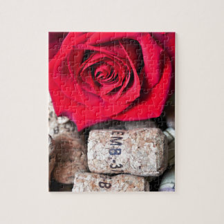 TALK ROSE with cork Jigsaw Puzzle