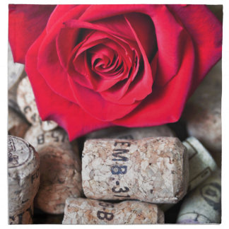 TALK ROSE with cork Napkin
