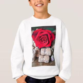 TALK ROSE with cork Sweatshirt