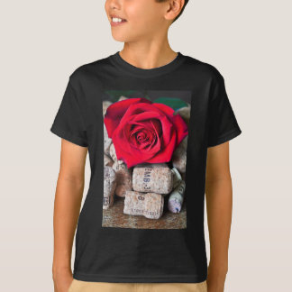 TALK ROSE with cork T-Shirt