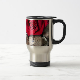 TALK ROSE with cork Travel Mug