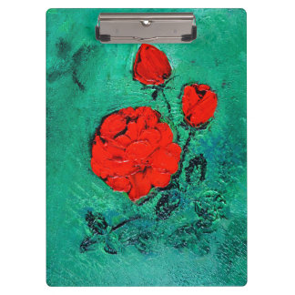 talk roses clipboard