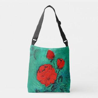 talk roses crossbody bag