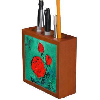 talk roses desk organiser