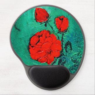 talk roses gel mouse pad