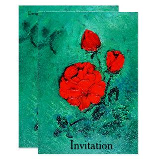 talk roses - Invitation
