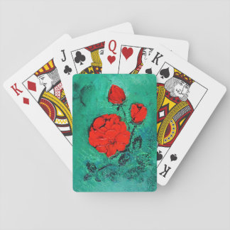 talk roses playing cards