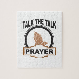 Talk the talk prayer jigsaw puzzle