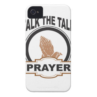 talk the talk prayer yeah iPhone 4 Case-Mate cases