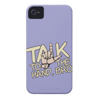 Talk To The Hand custom Blackberry case