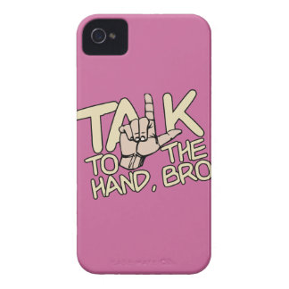 Talk To The Hand custom iPhone case-mate iPhone 4 Covers