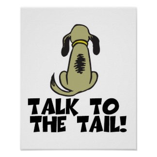 Talk to the Tail Dog Poster