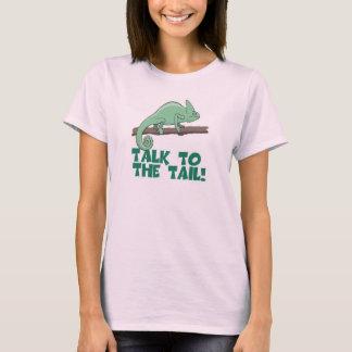 Talk to the Tail Lizzard Iguana T-Shirt