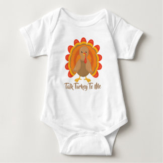 Talk Turkey To Me Baby Bodysuit