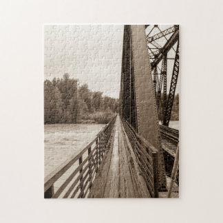 Talkeetna Railroad Bridge Walkway Puzzles