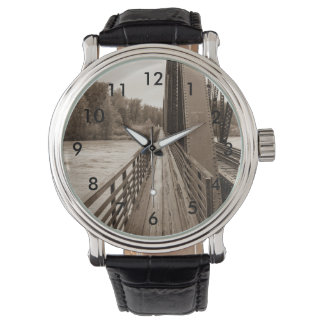 Talkeetna Railroad Bridge Walkway Watches