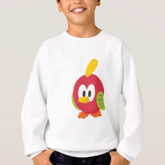 talking bird walking sweatshirt