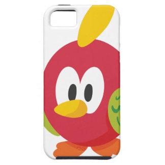 talking bird walking tough iPhone 5 case